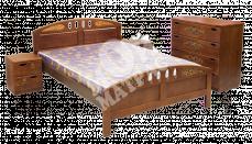 Фото Кровать с подъемным механизмом Галант (береза)