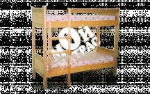 Фото Кровать с ортопедическим  основанием двухъярусная Омаль 3