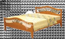 Фото Деревянная кровать Хорт (ковка)
