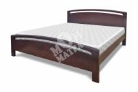 Фото Односпальная кровать Лион из дуба