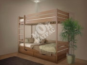 Фото Кровать двухъярусная Омаль 2 из массива