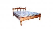 Фото Кровать с подъемным механизмом Подсолнух (резьба)