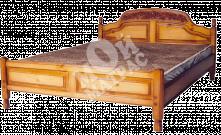 Фото Кровать с ортопедическим  основанием Адмирал (резьба)