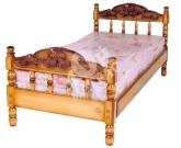 Фото Кровать с ортопедическим  основанием Точенка №1