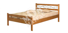 Фото Кровать с ортопедическим  основанием Катания (ковка)