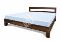 Фото Кровать с ортопедическим  основанием Бормио из дуба