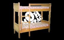 Фото Кровать двухъярусная Классика с матрасом