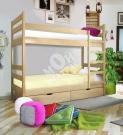 Фото Кровать двухъярусная Омаль 1 с матрасом