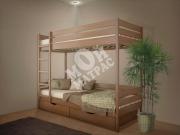 Фото Кровать двухъярусная Омаль 2 с матрасом