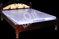 Фото Кровать Мария (тахта с материалом) с матрасом