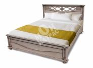Фото Кровать Торанто из березы с матрасом
