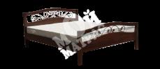 Фото Кровать Мальва (ковка) с матрасом