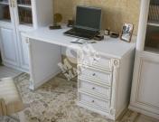 Фото Однотумбовый письменный стол из серии