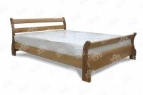 Фото Кровать с ортопедическим  основанием Алия из дуба