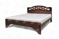 Фото Кровать Труа из березы с матрасом