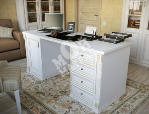 Фото Двухтумбовый письменный стол из серии