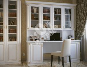 Фото Письменный стол с надстройкой из серии