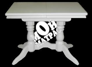Фото Стол 2 ноги прямоугольный белая эмаль